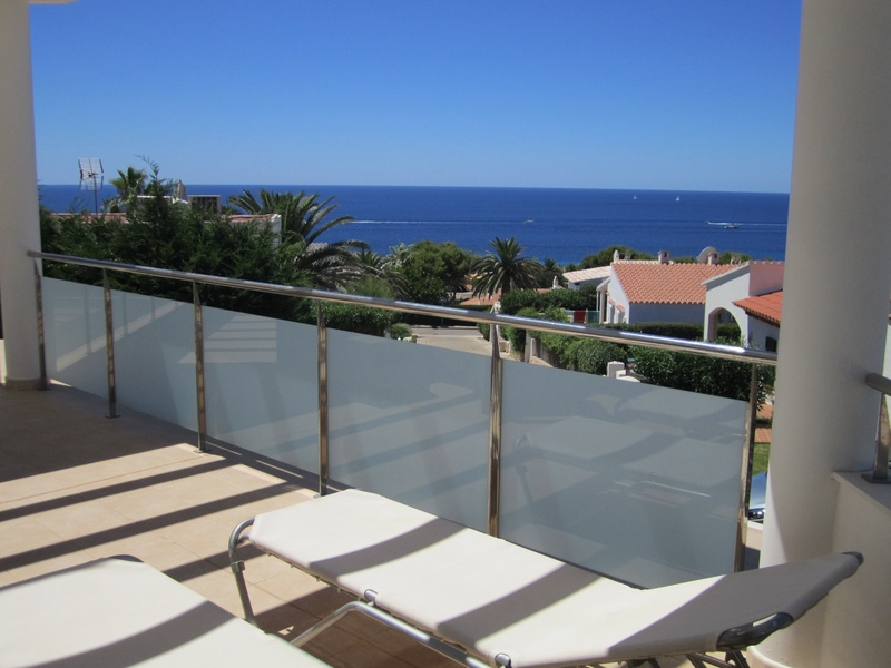 upper terrace sea views